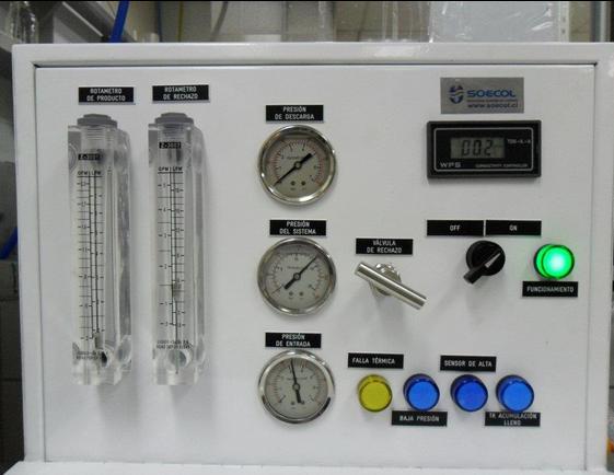 desmineralizador laboratorio frente